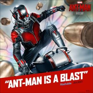 Ant man is a blast